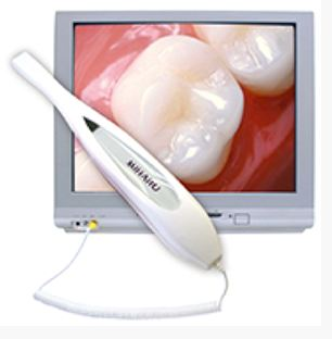 Intraoral cameras are offered at  Glen Cove Dental Associates